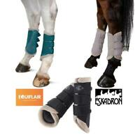 Eskadron Classic AW19 Faux Fur Mesh tendon Boots - Limited Edition