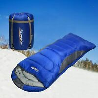 Adult Sleeping Bag w/t Sack for Big&Tall - 0 degree portable Waterproof camping