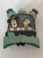Haunted Mansion Mickey Donald Hitchhiking Ghosts DLR Disneyland Resort Pin