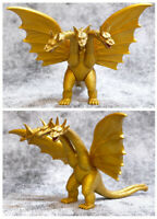 Godzilla 3 Head Gold Dragon King Monster Ghidorah Action Figures Model Doll Toy