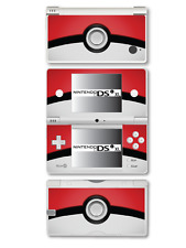 Pokémon pokeball vinyle peau sticker pour Nintendo DSi XL