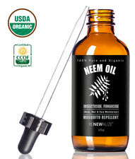 Organic Neem Oil For Plants |Pure, horticultural Insecticidal Bug Repellent