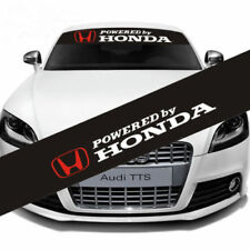 Auto Car Front Rear Windshield Banner Reflective Decal Sticker For Honda Racing
