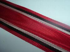 MEDAL RIBBON-GOOD QUALITY GERMAN/PRUSSIAN RED CROSS MEDAL RIBBON 1914-1945