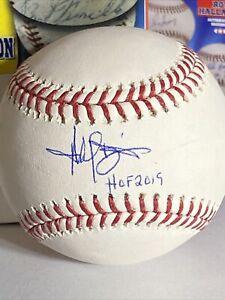 Harold Baines signed autographed baseball hof 2019 inscribed coa