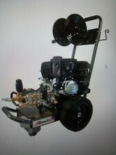 BossJet Basic Sewer Jetter 420CC PE 4000psi / 4gpm includes Reel/150' Hose