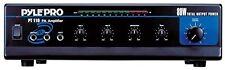 Pyle 80W Microphone Pa Mono Amplifier Phono/Aux/Rca 70V Output & Mic talkover
