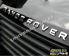 RANGE ROVER SET CHROME LETTERS HOOD OR REAR LIFTGATE EMBLEM NAMEPLATE PAIR NEW