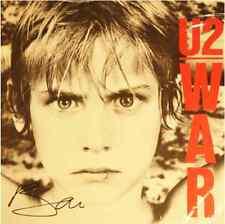 Bono U2 Signed Autograhed War Album )