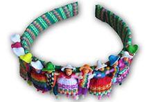 #614 Wholesale 6 Pack Discount Worry Doll Headband Fair Trade Peru Legend Lot