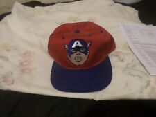 Captain America ( 1993 ) Limited Edition Snap-Back / Baseball Cap /
