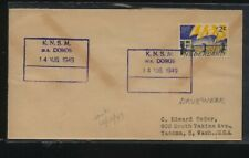 Netherlands  ship cancel cover  MS  Doros        HC0406