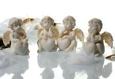 12 Engel Figuren mit Herz je 4 x 5,5 x 4 cm Engelfiguren Hochzeit Weihnachten