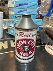 Iron City Premium Quality High Profile Cone Top Beer Can, Pittsburgh, PA, 12 oz