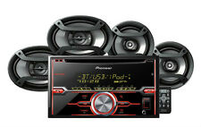 "Pioneer FXT-X7269BT FH-X720BT CD Player Receiver + 6.5"" & 6""x9"" Speakers Combo"