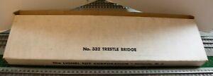 Lionel 332 Trestle Bridge in Original Box Variation C