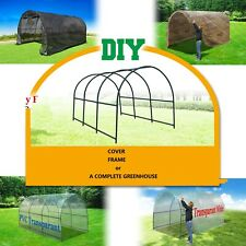 Large Hot Walk-in Greenhouse Multi-usage PE/ Mesh Cover/ Steel Frame Accessories