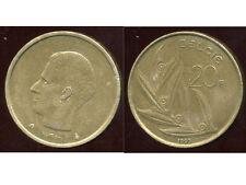 BELGIQUE  20 francs  1993  ( belgie )  ( bis )