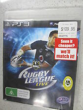 NRL Rugby League Live PS3