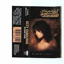 No More Tears by Ozzy Osbourne (Cassette, Sep-1991, Epic)