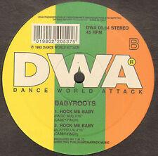 BABYROOTS - Rock me baby - Rock me baby - DWA 0064 - Ita 1992
