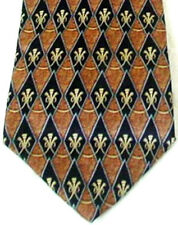 LANVIN SILK NECK TIE - Made In France