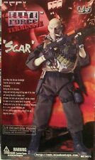 Blue Box 1:6 Elite Force Navy Seal Terminater Scar 12 in Mercenary Figure Rare