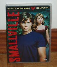 SMALLVILLE - 4ª TEMPORADA COMPLETA - 6 DVD - NUEVO - SERIES - AVENTURAS