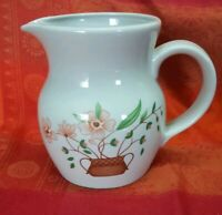 Vintage Retro Countryside Collection Stoneware Large Table Jug Water Milk Vase
