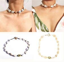 Natural Cowrie Shell Beads Choker Tie Necklace Other Bloggers Stories Handmade
