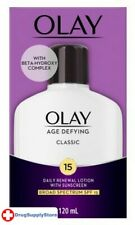 BL Olay Age Defying Classic Lotion Spf#15 4 oz W/Beta Hydr - Two PACK