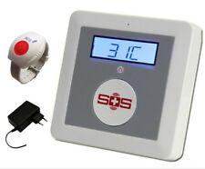 SOS care system for elderly - elderly home monitoring system - wireless sensors