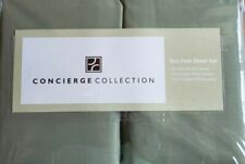 CONCIERGE COLLECTION TWIN QUEEN SHEET SETS SAGE GREEN