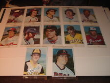 Lot of 12 1980 Topps Junbo Baseball Cards White Backs MIP