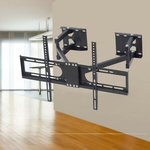 Solid Sturdy Corner Full Motion Extend TV Wall Bracket Mount for 42-65 Inch TVs