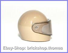 Minifig Helmet Visor blue NEU NEW 2446 /& 2447 Lego Helm mit Visier blau