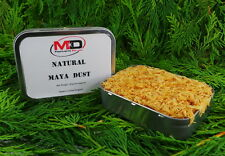 2 x 57ml argent métal Rempli avec naturel Maya Dust Allume-feu Amadou bushcraft