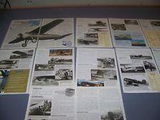 VINTAGE..LOCKHEED VEGA, SIRIUS, ALTAIR..STORY/HISTORY/PHOTOS..RARE! (711E)
