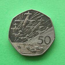 1994 Elizabeth II D Day Landings 50p Fifty pence SNo57388
