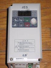 LS  inverter Starvert SV-iE5 Variable Frequency SV002iE5-2 IE5 0.2KW 220V tested
