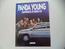 advertising Pubblicità 1987 FIAT PANDA YOUNG