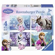 Ravensburger Disney Frozen Jigsaw high quality Puzzles Pack of 4 Toddlers Kids