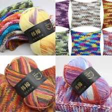 26Colors 100g Soft Chunky Milk Knitting Wool Yarn Baby Skein Ball-Multi.Coloured