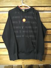 Manchester United Mens Hooded Jumper Sweater Sz Large Hoodie Football - SW5-1