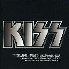 KISS - Icon  (Best Of/Greatest Hits) I Was Made for Loving You - CD - NEU/OVP