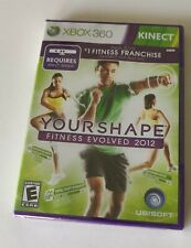 New Your Shape: Fitness Evolved 2012 (Microsoft Xbox 360, 2011) Kinect Sealed