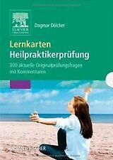 Lernkarten Heilpraktikerprüfung: 300 aktuelle Originalpr... | Buch | Zustand gut