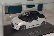 Citroen DS3 Cabrio 2014 weiß 1:43 Norev neu & OVP 155298