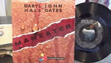45V PICTURE SLEEVE HALL & OATES MANEATER / DELAYED REACTION ON RCA  RECORDS