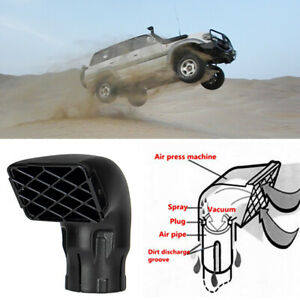 Auto Air Ram Snorkel Heads Top 3.5'' Fit for TOYOTA Landcruiser VDJ76/78/79
